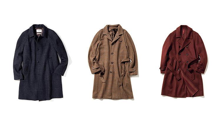 週末重視だったり職場のドレスコードが緩めならコートは「ラグランスリーブ」が正解!