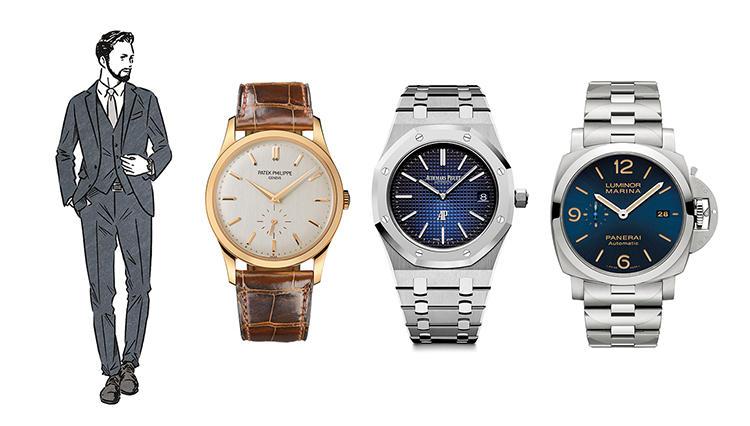 【タイプ別】ビジネスマンの魅せる時計「王道堅実タイプ」のあなたに似合うのは?