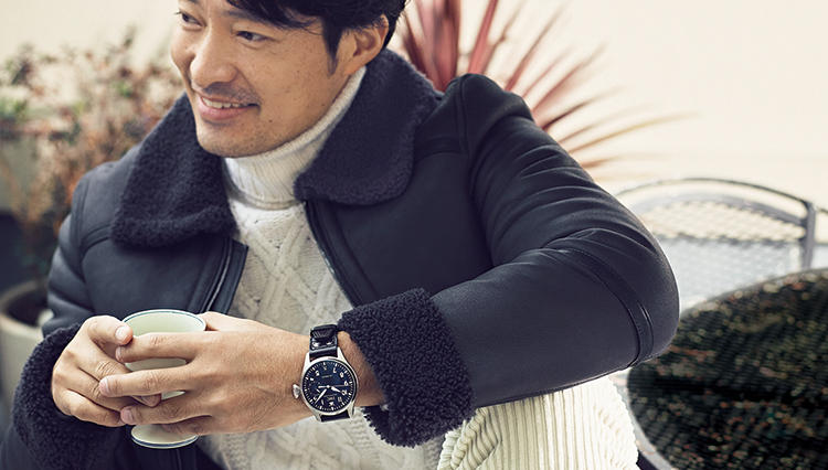 IWCの腕時計が似合うのは、こんな大人の着こなし3選