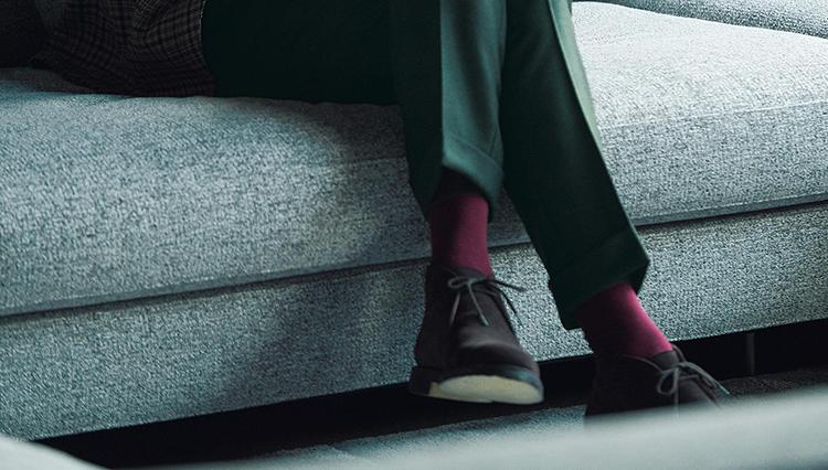 大人のチャッカブーツが似合うのはこんなスタイル