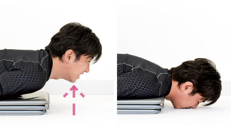 フェイスラインが変わる! 男の顔が引き締まる「首」のトレーニング【深堀式 体幹トレーニングvol.6】