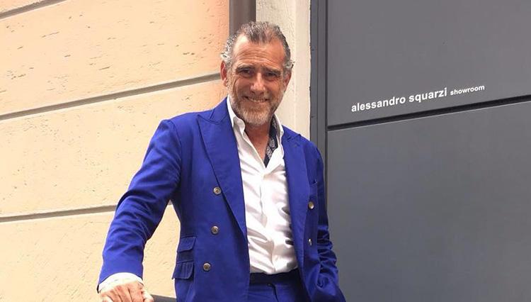 イタリアでショールームを経営するアレッサンドロ・スクアルツィさん @alessandrosquarzi