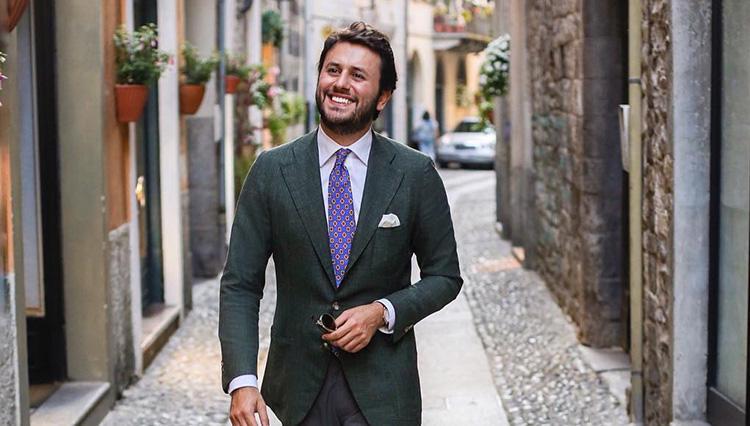ブログ「The Bespoke Dudes」主宰者ファビオ・アタナシオさん @fabioattanasio