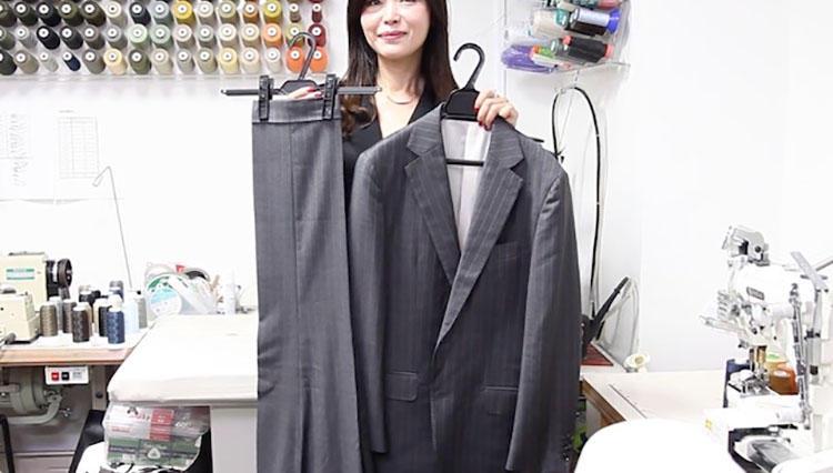 【動画解説】スーツの型崩れをアイロンワークで復活させるプロの技!