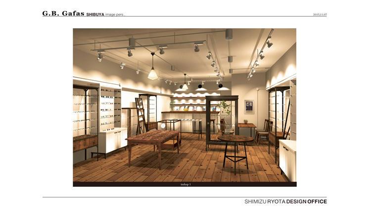 旬のブランドのアイウェアが揃う「G.B.Gafas」の路面店が渋谷に誕生