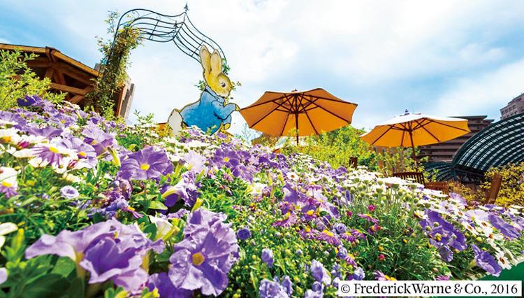 「ピーターラビット」の絵本の世界が恵比寿ガーデンプレイス内に登場