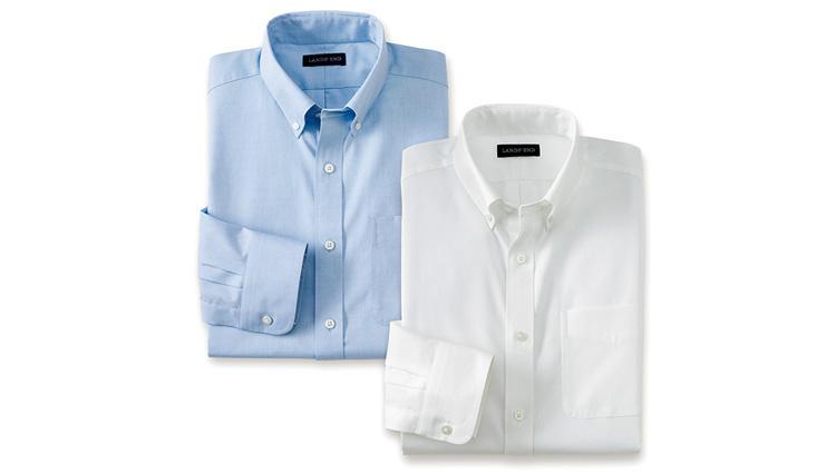 ランズエンド立体Xシャツ10周年 日本限定モデル「ビズドライ」が誕生!