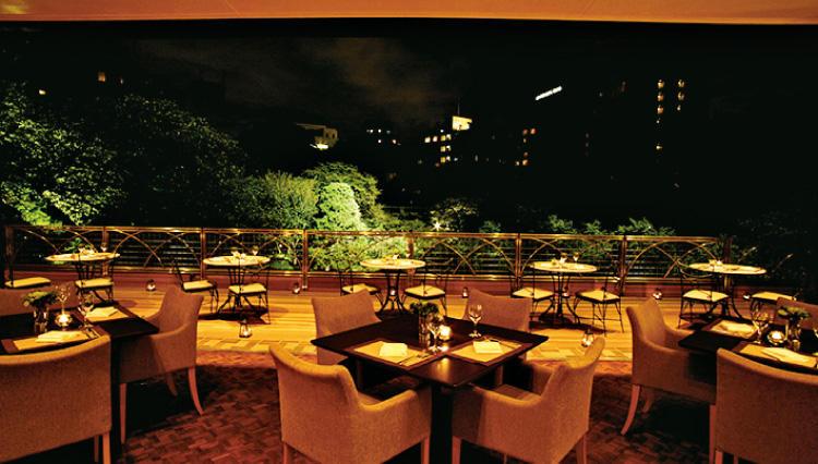 八芳園のスラッシュカフェにビアテラスがオープン