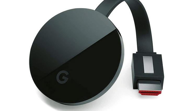 スマホ端末の映像を4Kテレビで楽しめる「Chromecast Ultra」
