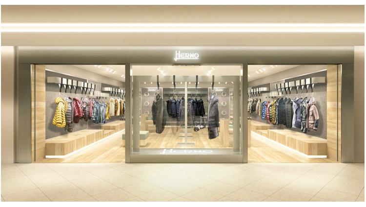 ヘルノの旗艦店がGINZA SIX3階にオープン