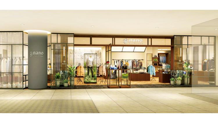 ナノ・ユニバースが新宿フラッグスに新店舗をオープン