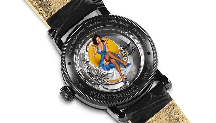 【BASEL2017新作時計】クロノスイスの限定レギュレーター・後編