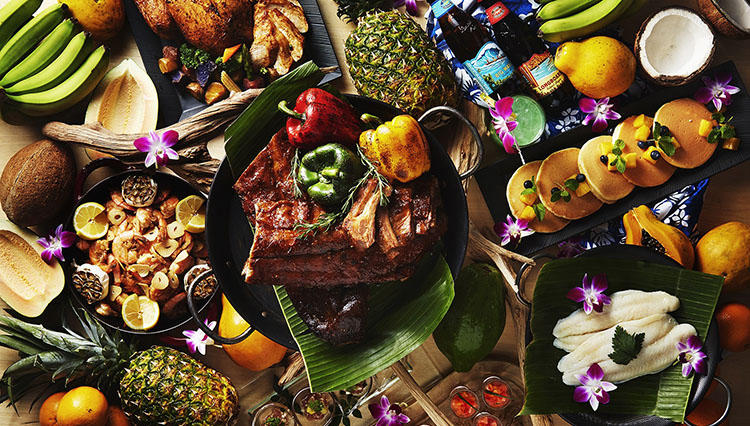 ハワイ料理を堪能! ANAインターコンチネンタルホテル東京「ハワイアンディナーブッフェ」