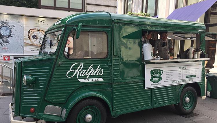 ラルフ ローレンの移動カフェ「Ralph's COFFEE」が、期間限定で営業中!