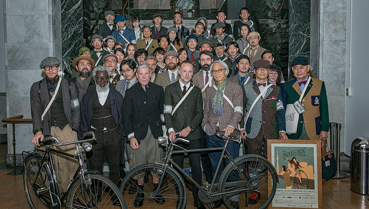 英国ファッションと自転車好きの祭典、「ツイードラン 東京 2017」レポート!