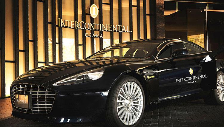 気分は『007』!? インターコンチネンタルホテル大阪がアストンマーティンと期間限定でコラボ