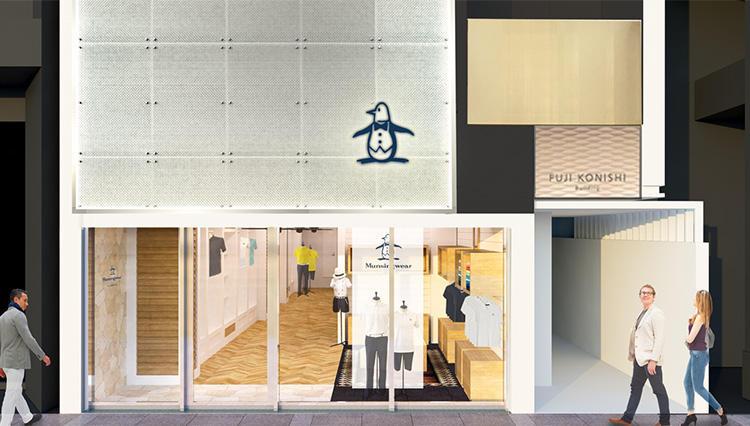 マンシングウェアのグローバル旗艦店「マンシングウェア クラブハウス 銀座」がオープン