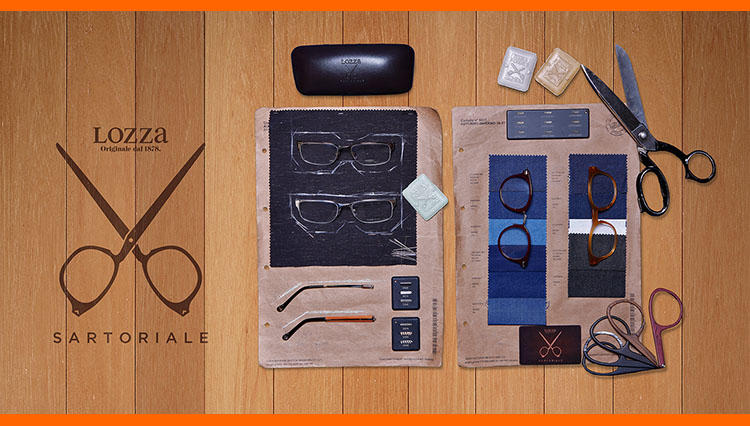 「ロッツァ サルトリアーレ」が国内初展開。今やメガネも自分好みにオーダーする時代