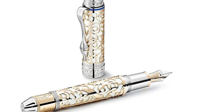 モンブランの完全限定版筆記具「パトロンシリーズ」27作目は、メルヘン王がテーマ