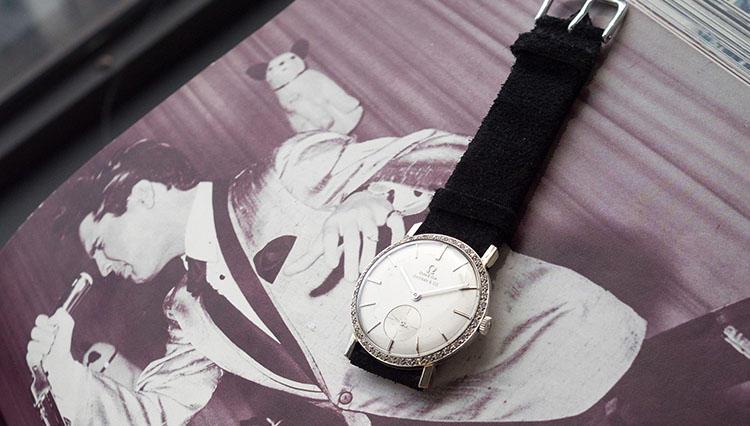 エルヴィス・プレスリーのオメガの時計がオークションにて過去最高額の約1.6億円で落札!