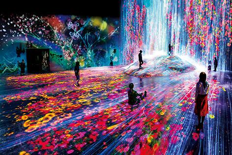 【今月のイベント】ビッグスケールな映像空間「森ビル デジタルアート ミュージアム:エプソンチームラボ ボーダレス」