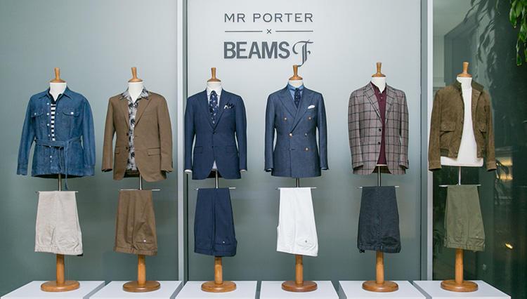 【MR PORTER × BEAMS F】ビームスF初の海外展開、遂に始動!