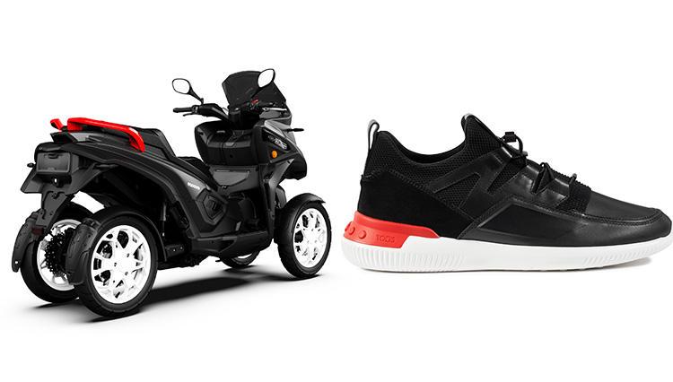 トッズ「NO_CODE」×「クーデル」って?話題のスニーカーと四輪車両がコラボレーション!