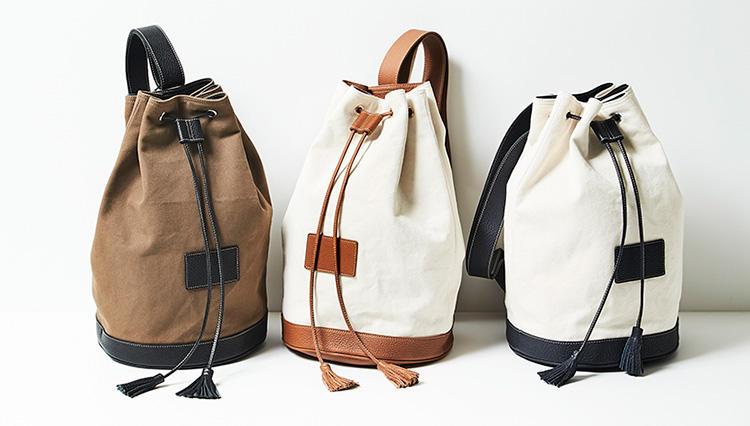 洒落者たちの間で人気上昇中のイタリア鞄「アカーテ」の新作が一堂に!