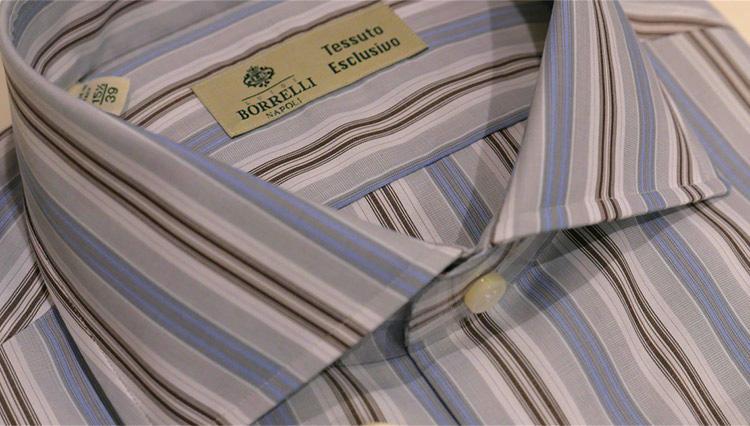 「ルイジ ボレッリ」のシャツを着ると、何故スーツ&ネクタイが引き立つのか——?【Pitti Uomo Report vol.07】