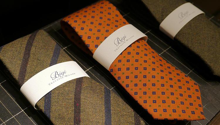 スーツの胸元が「きちんと」見える! ステファノ・ビジのネクタイの魅力とは?【Pitti Uomo Report vol.1】