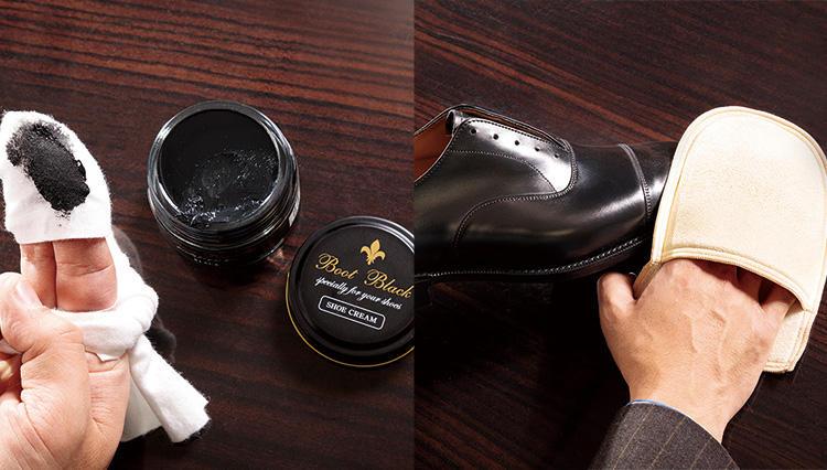 乳化性クリームの正しい使い方を知っていますか?【究極の靴磨き】
