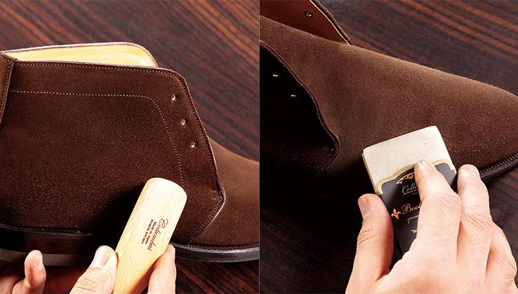 スエード靴は月1回のケアで、目に見えて状態がよくなる【究極の靴磨き】
