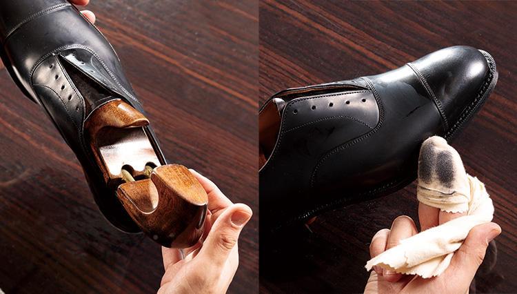 液状クリーナーで靴の汚れを落とす正しい方法とは?【究極の靴磨き】