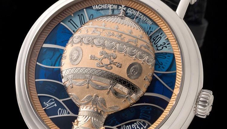"""これぞ時計芸術! ヴァシュロン・コンスタンタンの""""気球ウォッチ""""が凄い【SIHH2018新作】"""
