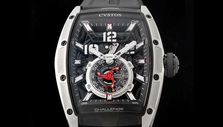 「磁石って機械式時計の大敵では・・?」赤いスモセコに最新技術を投入! クストス【WPHH2018新作】