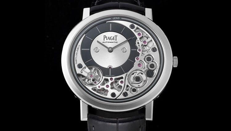 現時点で世界最薄の自動巻き時計がこちらです。ピアジェ【SIHH2018新作】