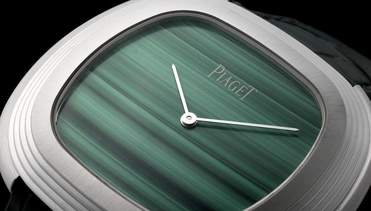 今年、時計のトレンドカラーはグリーン! ピアジェはそれを天然石で魅せました【SIHH2018新作】