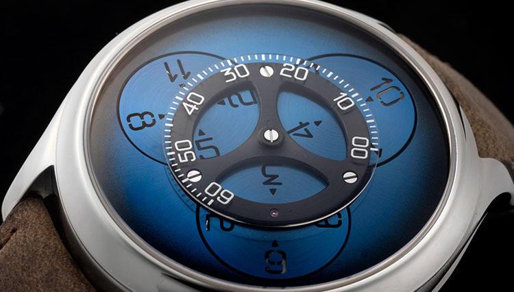 マニュファクチュール「H.モーザー」から登場したのは、1本も針のない時計