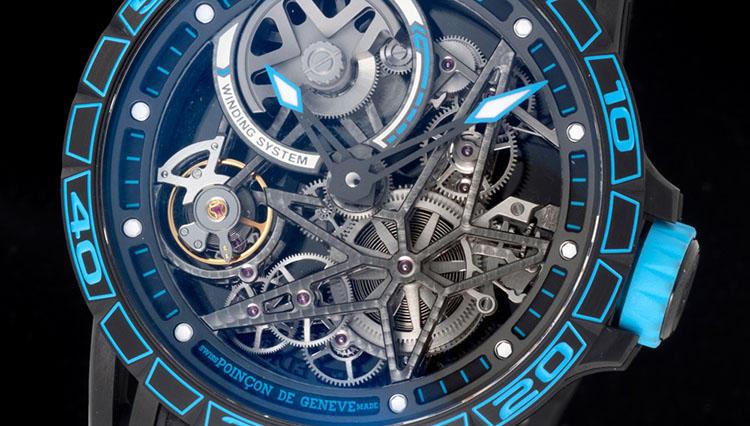まさに勝ち組ウォッチ!? タイヤの名門ピレリと高級時計ロジェ・デュブイがコラボ【SIHH2018新作】