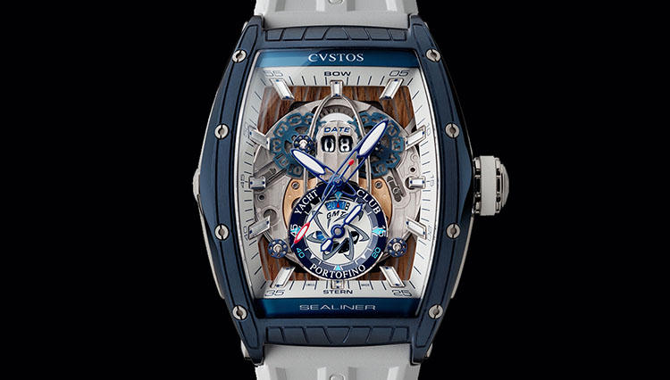 クストスの時計を買って、地中海の高級ヨットクラブのメンバーに!?