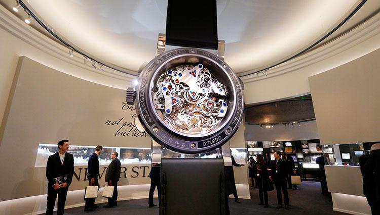 「いつまでも見飽きない時計。」A.ランゲ&ゾーネは今年もまた見る者の目を釘付けにした