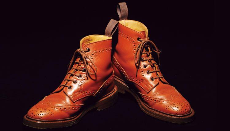 """履きこんでわかった名靴の真価私の""""思い出"""" トリッカーズ"""