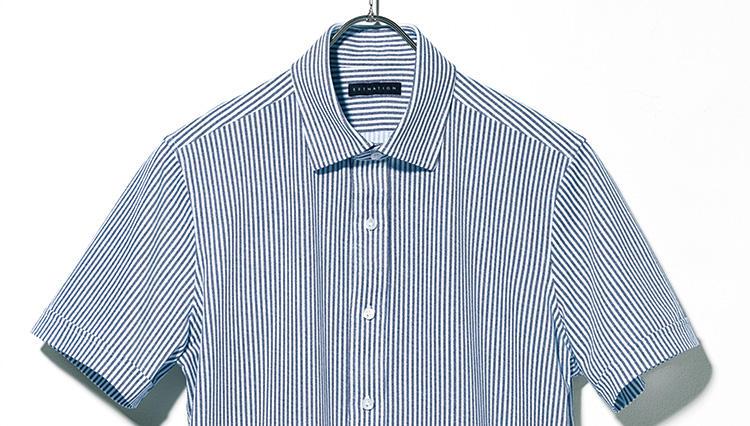 エストネーションの半袖ドレスシャツが夏の仕事着に使えるってホント?