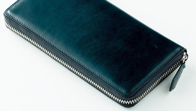 最高級レザーを使用した大人のための長財布 – ココマイスターのプルキャラックロングウォレット