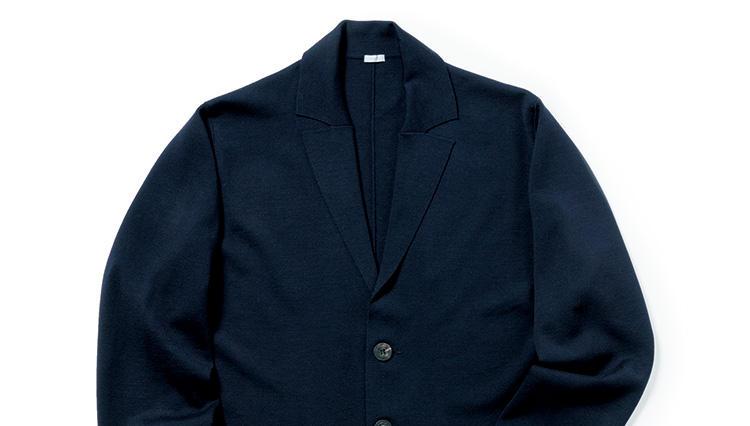 ウォームビズに使えるラグジュアリーなニットジャケット – マロのスーパー180'sウールニットジャケット