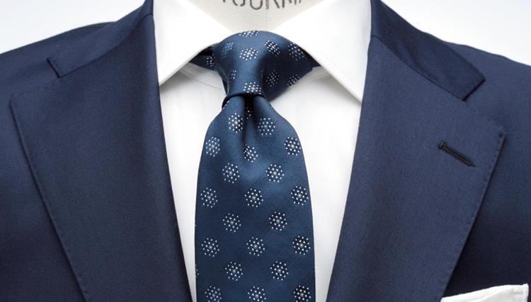 シャツの襟型とタイのノットの基本ルール