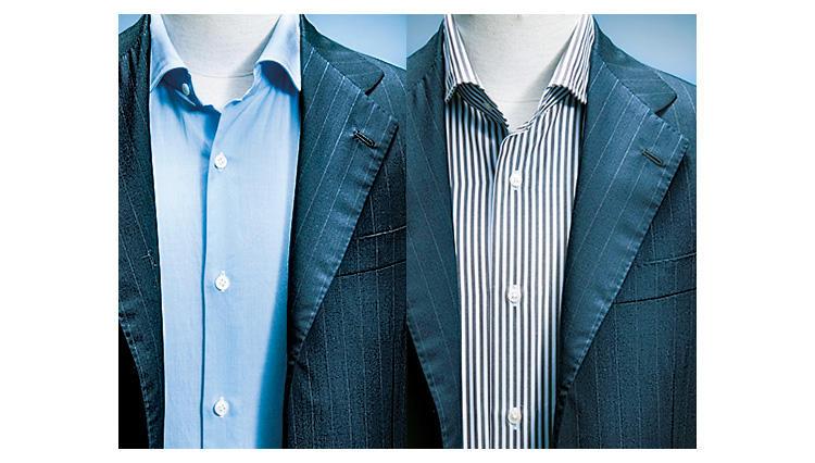 ノータイスタイルのシャツの選び方は?