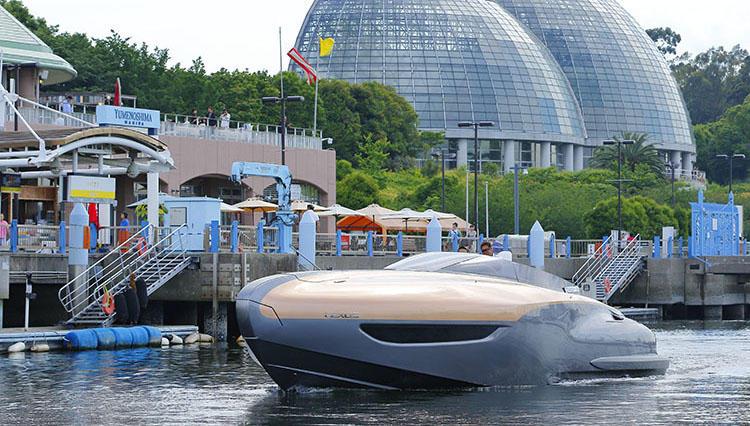 海の上を走るレクサスが誕生!? 「LEXUS Sport Yacht Concept」