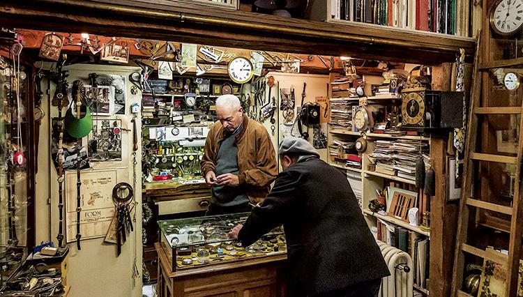 【スイス高級時計の聖地・ジュネーブ】松山 猛さんオススメのアンティーク時計店は?