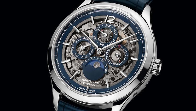 美しいだけじゃない、100年調整が要らないカレンダー搭載のモンブランの時計とは?